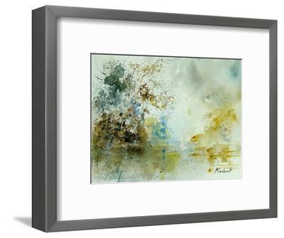Watercolor 120605-Pol Ledent-Framed Art Print