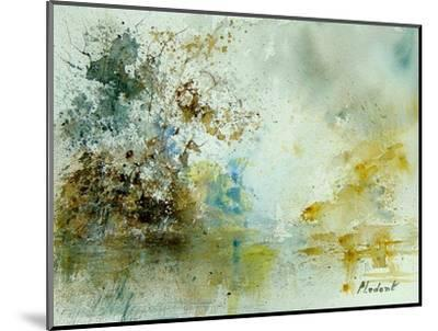 Watercolor 120605-Pol Ledent-Mounted Art Print