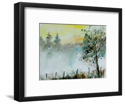 Watercolor Mist-Pol Ledent-Framed Art Print