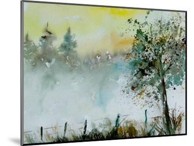 Watercolor Mist-Pol Ledent-Mounted Art Print