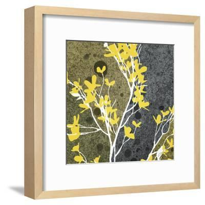Moon Flowers II-James Burghardt-Framed Art Print