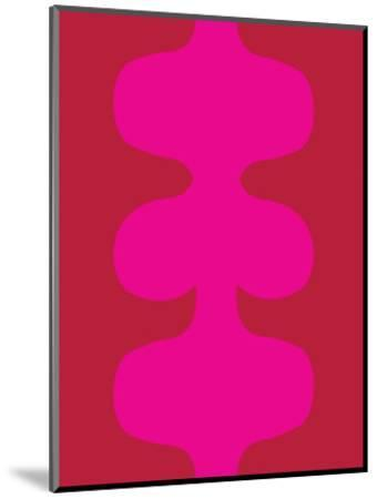 Red and Pink Design, no. 115-Avalisa-Mounted Art Print