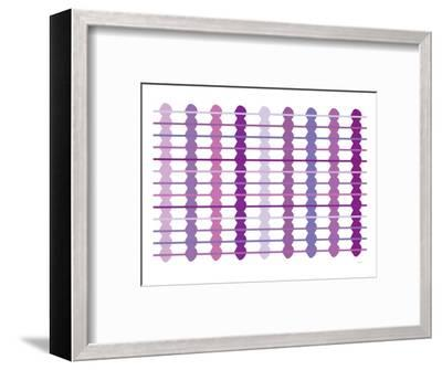 Purple Design, no. 45-Avalisa-Framed Art Print