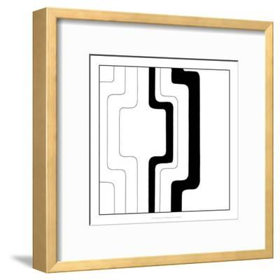 Divergence IV-Chariklia Zarris-Framed Art Print