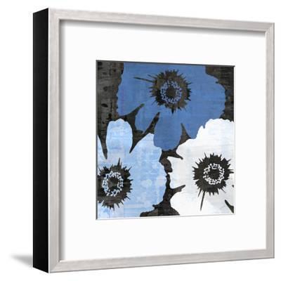 Bloomer Squares XIV-James Burghardt-Framed Art Print