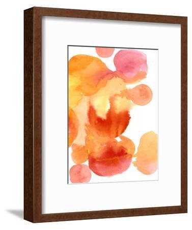 Fire Water II-Deborah Velasquez-Framed Art Print