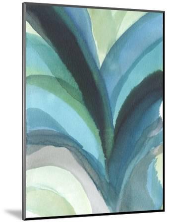 Big Blue Leaf I-Jodi Fuchs-Mounted Art Print