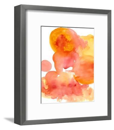 Fire Water I-Deborah Velasquez-Framed Art Print