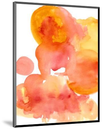 Fire Water I-Deborah Velasquez-Mounted Art Print