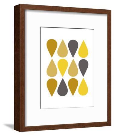 Raindrops III-Chariklia Zarris-Framed Art Print
