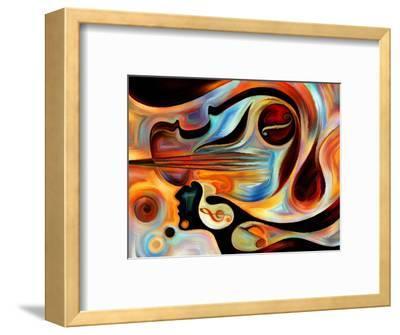Elements of Music-agsandrew-Framed Art Print