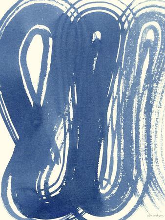 Macrame Blue V-Vanna Lam-Art Print