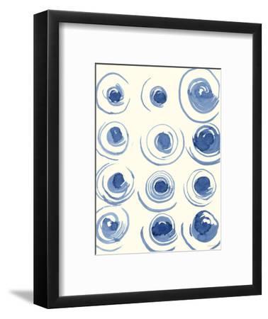 Macrame Blue II-Vanna Lam-Framed Art Print