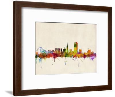 bd71b9ddbfc San Francisco City Skyline-Michael Tompsett-Framed Art Print