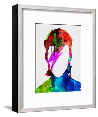 David Watercolor Portrait-Lora Feldman-Framed Art Print
