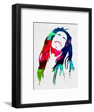 Bob Watercolor-Lora Feldman-Framed Art Print