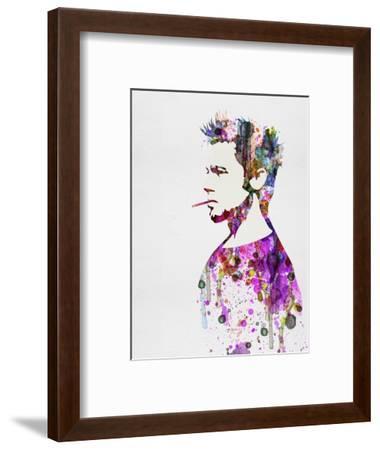 Fight Club Watercolor-Anna Malkin-Framed Art Print