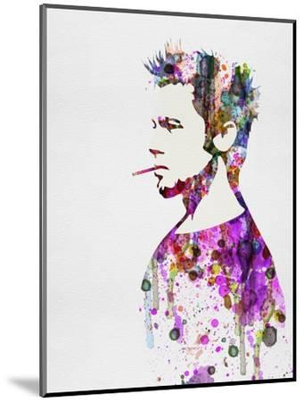 Fight Club Watercolor-Anna Malkin-Mounted Art Print