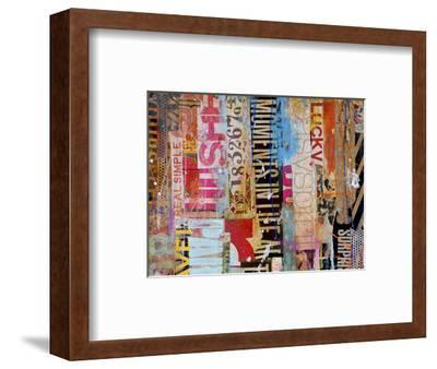 Metro Mix 21 I-Erin Ashley-Framed Art Print