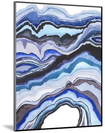 Quartz Lore II-Grace Popp-Mounted Art Print