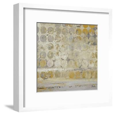 Dots on Gold-Patricia Pinto-Framed Art Print