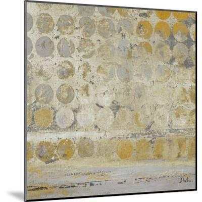 Dots on Gold-Patricia Pinto-Mounted Art Print