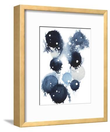 Blue Galaxy IV-Grace Popp-Framed Art Print