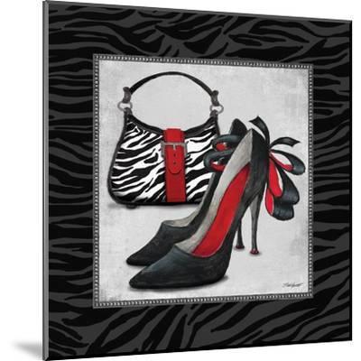 Zebra Fashion II-Todd Williams-Mounted Art Print