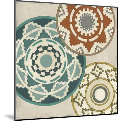 Basket Motif III-June Erica Vess-Mounted Art Print