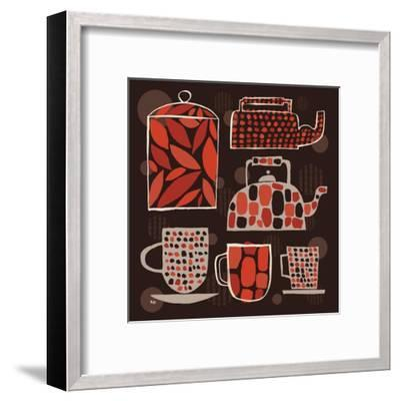 Spotted Kitchen II-Mo Mullan-Framed Art Print