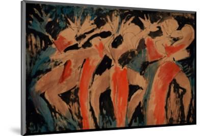 Carnavalia 2-Vaan Manoukian-Mounted Art Print