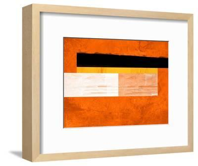 Orange Paper 4-NaxArt-Framed Art Print