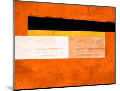 Orange Paper 4-NaxArt-Mounted Art Print