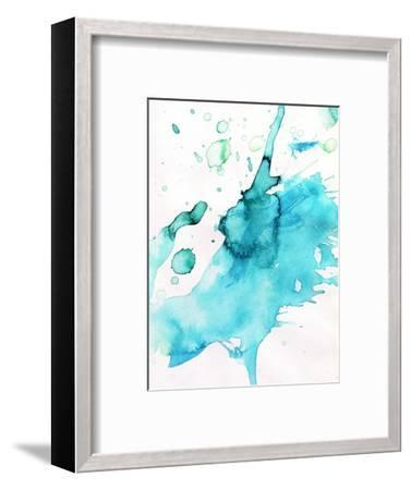Abstract Watercolor Hand Painted Background-katritch-Framed Art Print