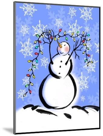 Silly Snowmen I-Nicholas Biscardi-Mounted Art Print