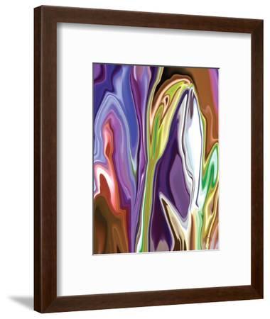 Purple Spring-Rabi Khan-Framed Art Print