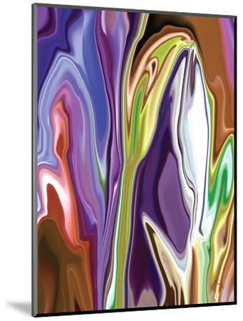 Purple Spring-Rabi Khan-Mounted Art Print