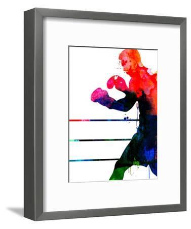 Jake Watercolor-Lora Feldman-Framed Art Print