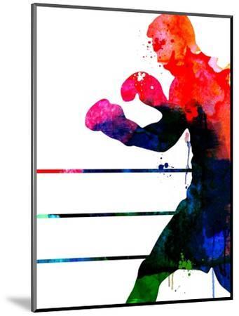Jake Watercolor-Lora Feldman-Mounted Art Print