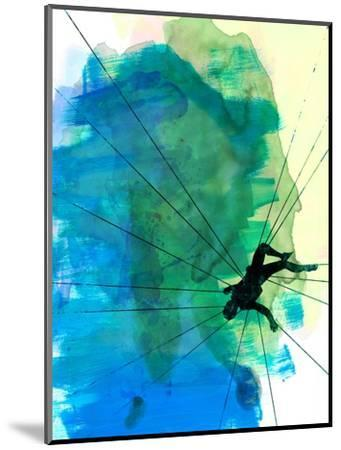 Vertigo Watercolor-Lora Feldman-Mounted Art Print
