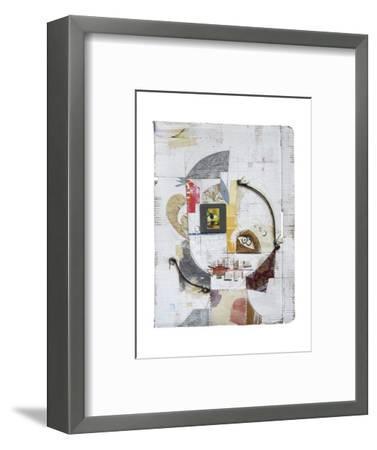 Face 5-Enrico Varrasso-Framed Art Print