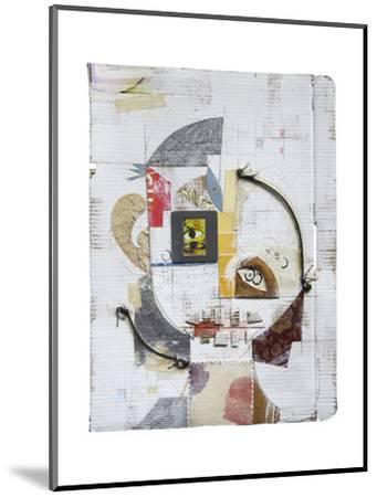 Face 5-Enrico Varrasso-Mounted Art Print
