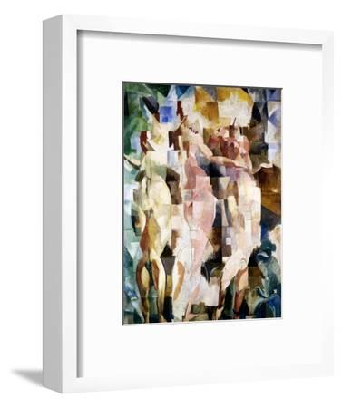 The Three Graces, 1912-Robert Delaunay-Framed Giclee Print