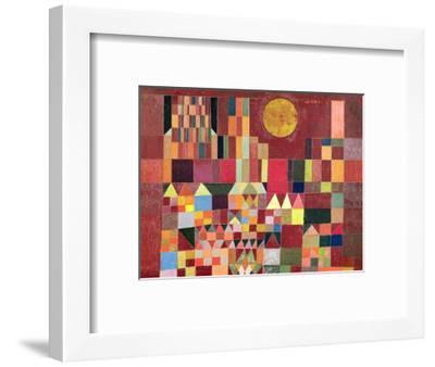 Castle and Sun-Paul Klee-Framed Giclee Print