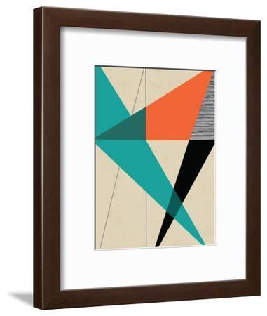Diagonal Unity-Rocket 68-Framed Giclee Print