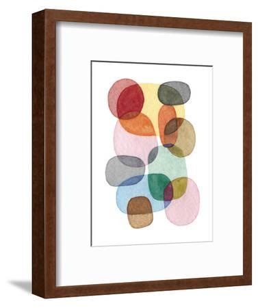 Inked Orbs III-Nikki Galapon-Framed Art Print