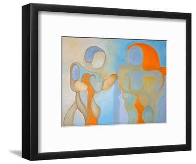 Man and Woman Nr 1, 2009-Jan Groneberg-Framed Giclee Print