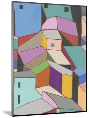 Rooftops in Color VIII-Nikki Galapon-Mounted Art Print