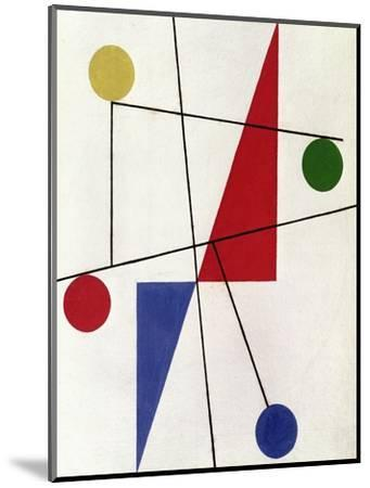 Untitled, 1932-Sophie Taeuber-Arp-Mounted Giclee Print