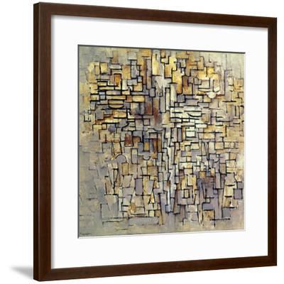 Mondrian: Composition, 1913-Piet Mondrian-Framed Giclee Print